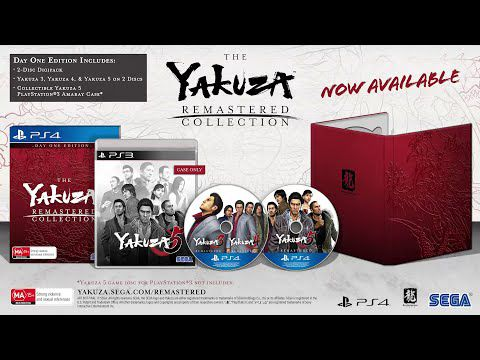 [ACTUALITE] The Yakuza Remastered Collection - Maintenant disponible sur PlayStation 4
