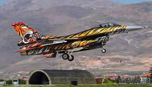 """New Tiger General Dynamics F-16C Block 50 or the 192 Filo """"Kaplan"""" for the Tiger Meet 2015"""