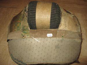 Restauration d'un carreau à roue : le final