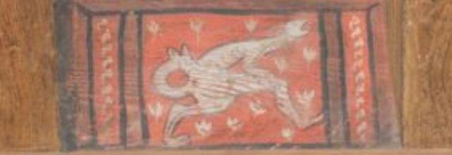 Des créatures et des êtres humains dans l'imagier de Fréjus
