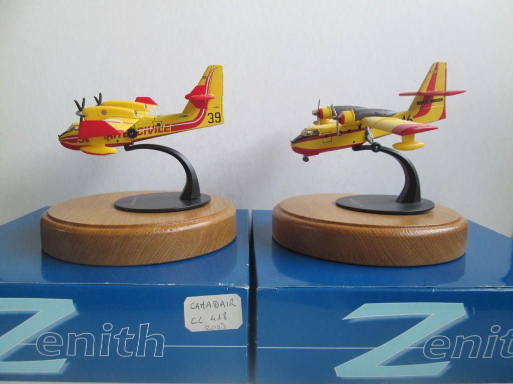 Canadair CL-215 et CL-415  (Zénith - 1/72)