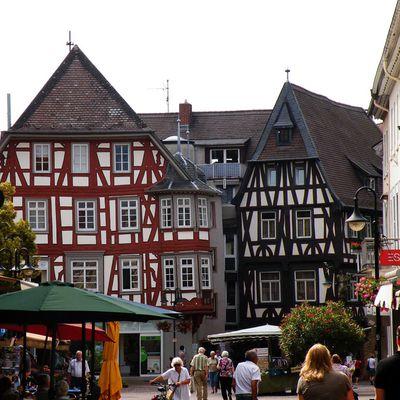 Ausflug nach Bensheim