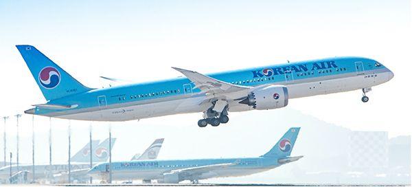 korean air boeing dreamliner