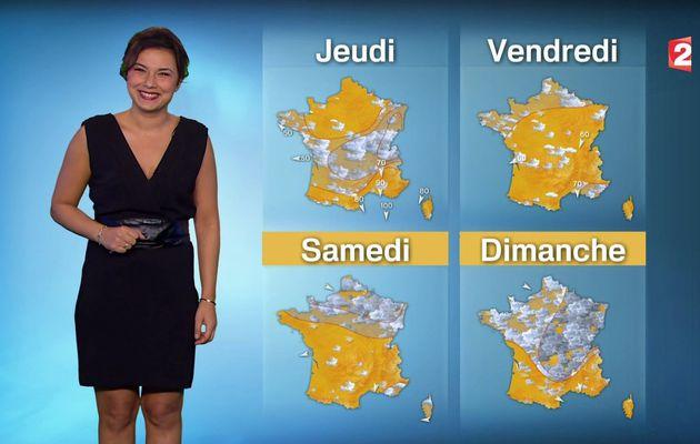 📸1 📺1 ANAIS BAYDEMIR pour LA METEO ce SOIR @France2tv #vuesalatele