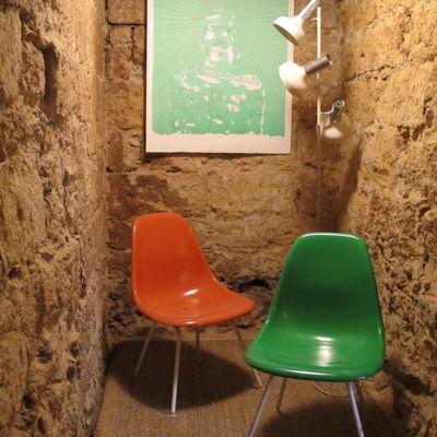Chaises DSX de Charles et Ray Eames