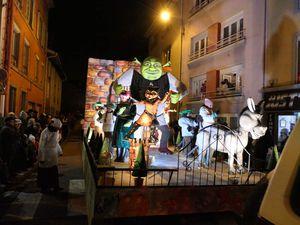 Shrek et ses trolls à l'honneur de la ville de Golbey
