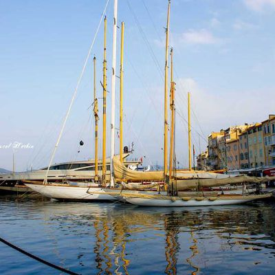 Yatching wintering works from St-Tropez