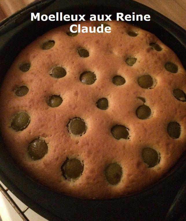 Gâteau Moelleux aux Reine Claude