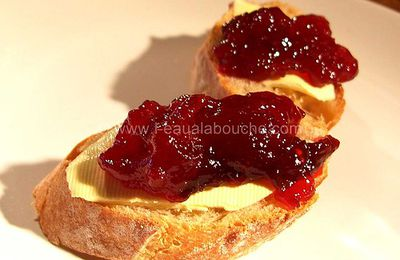 Confiture de Quetsches au Grand Marnier