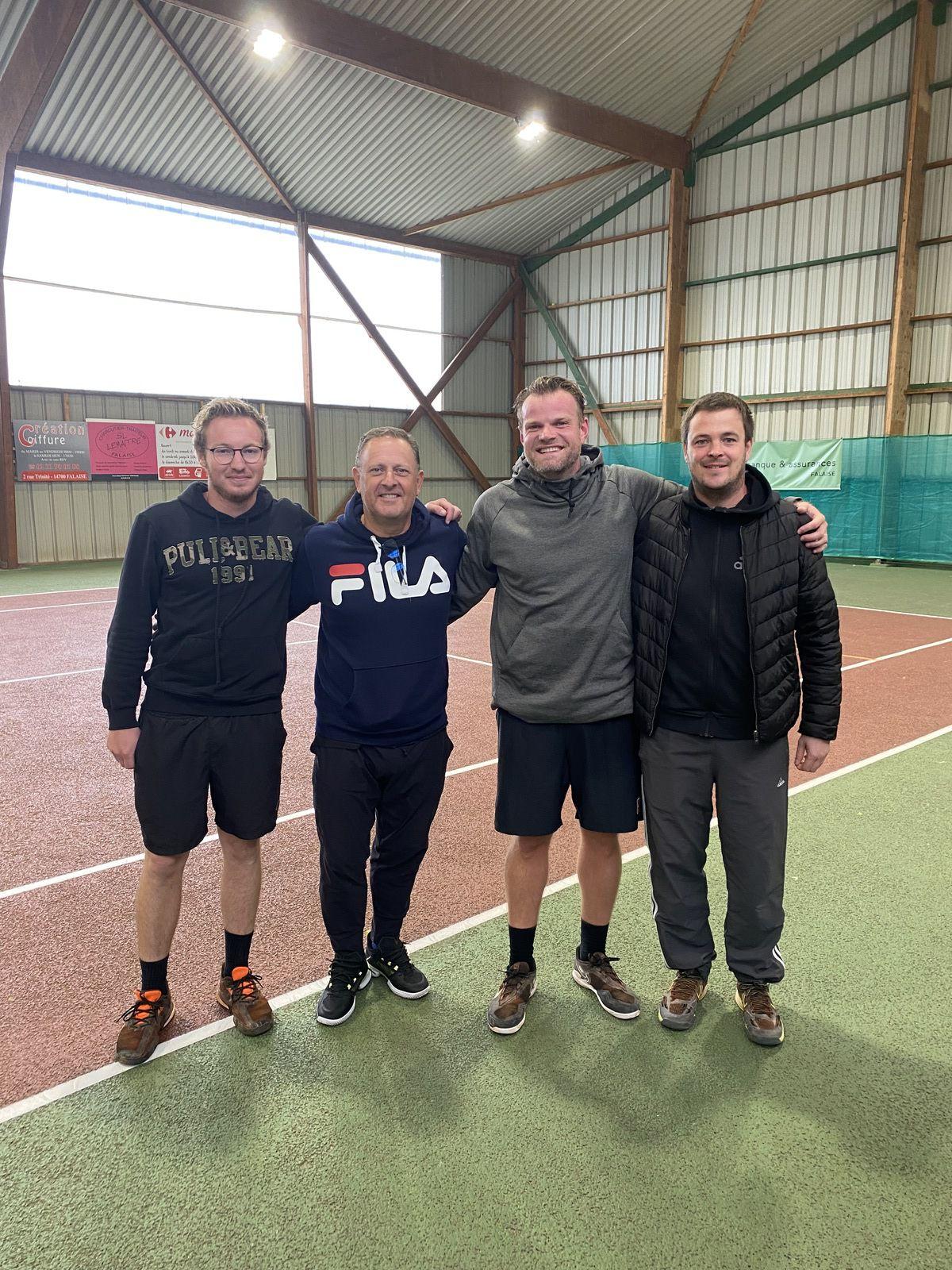 Richard Lecomte, Olivier Le François, Vincent Porquet, Mathieu Dolley