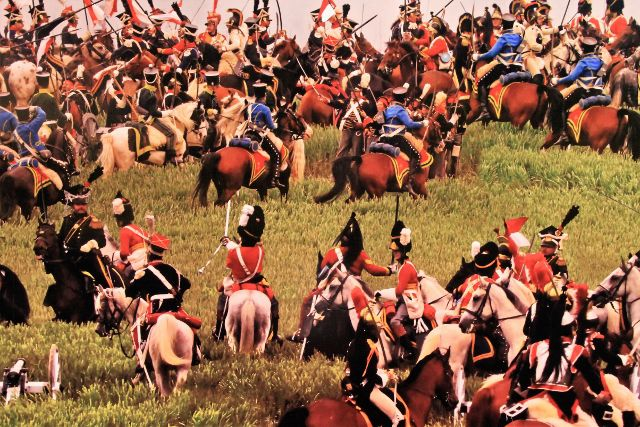 Waterloo - Bataille Juin 1815 - Belgique