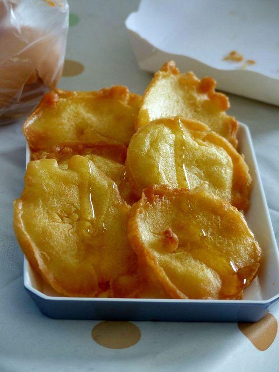 Gourmandise du jour (3) - Beignets plats au miel