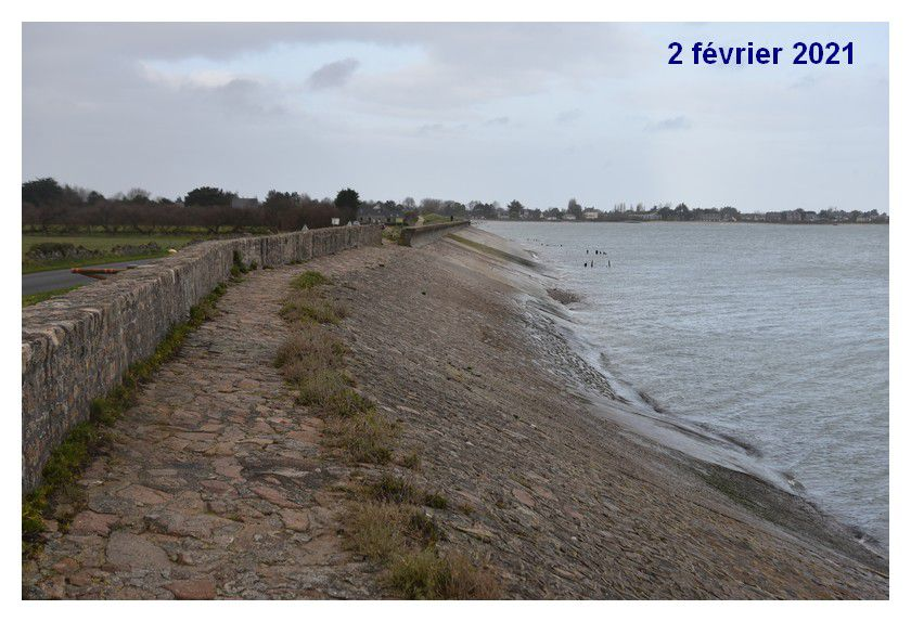 Défense contre la mer, les digues de Saint-Vaast la Hougue