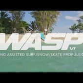 Ozone WASP V1 - Wing Assisted Surf/Snow/Skate Propulsion