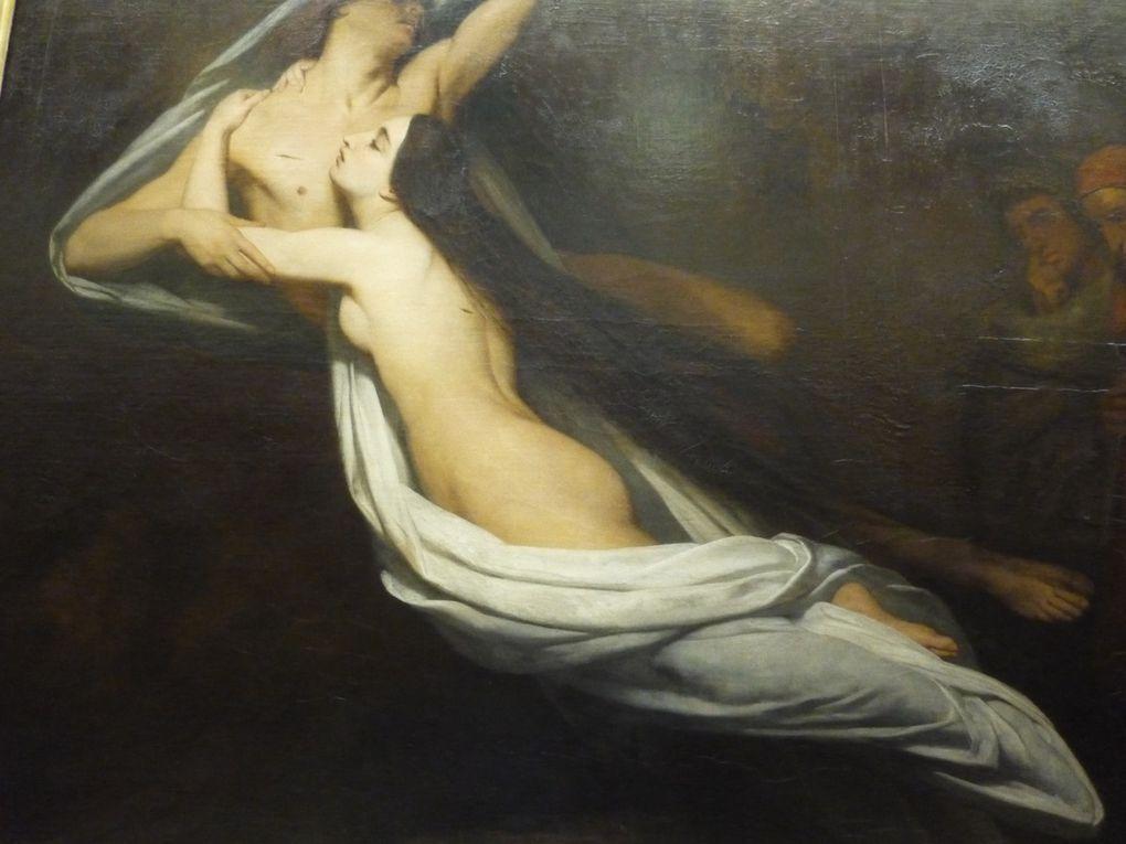 Ary Scheffer, Francesca da Rimini (from Dante's Inferno)