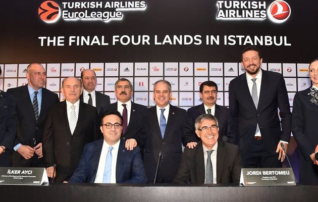 Officiel : Le Final Four de l'Euroleague de retour à Istanbul