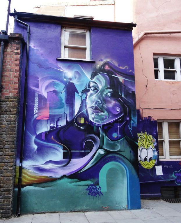 Découvertes street art à Londres
