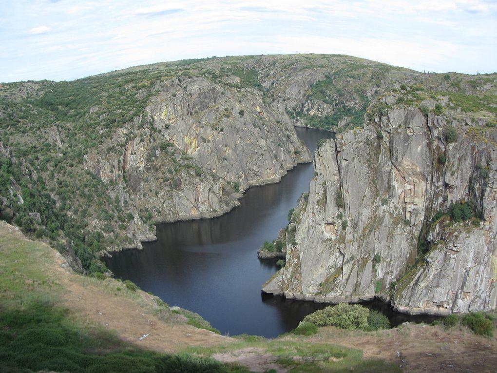 Les gorges du Douro à et près de Miranda