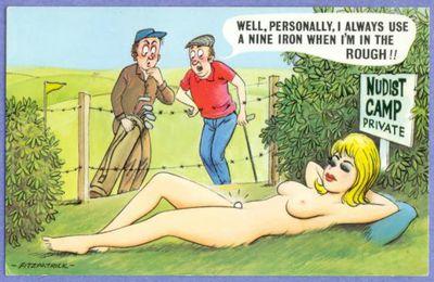 Le golf est parfois rigolo