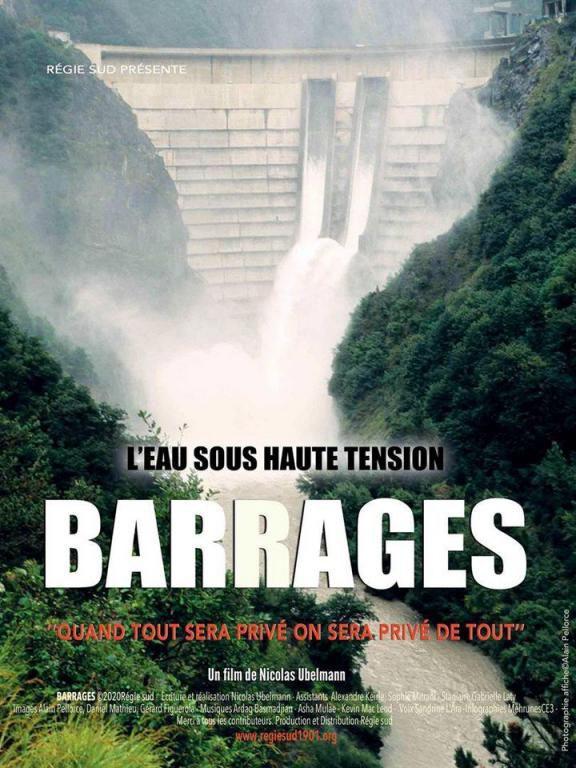 Barrages, l'eau sous haute tension, film-débat à Thorens Glières