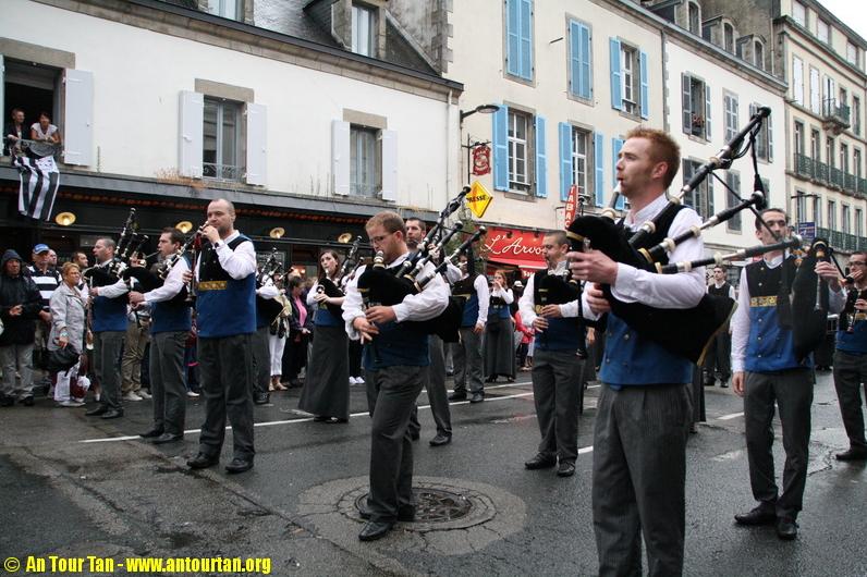 Festival de Cornouailles / Parade et Triomphe – Quimper 2013 © An Tour Tan