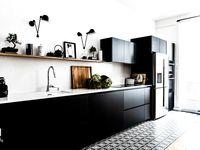 Un appartement parisien en noir et blanc