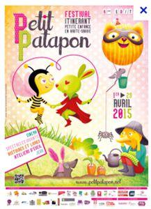 Petit Patapon, festival itinérant en Haute-Savoie pour la petite enfance du 13 au 17 avril 2015