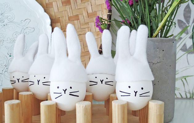 DES IDEES A GOGO ...........................Bonnets de lapins pour œufs de Pâques
