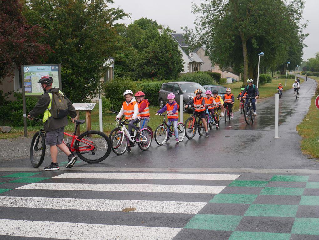 Sortie vélo pour les élèves de CE2
