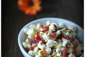 Pop-Corn au Bacon et au sirop d'érable