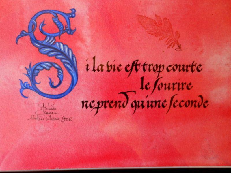 Ateliers Plume & Or, calligraphie et enluminure