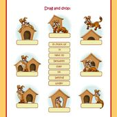 Prepositions of place - Interactive worksheet