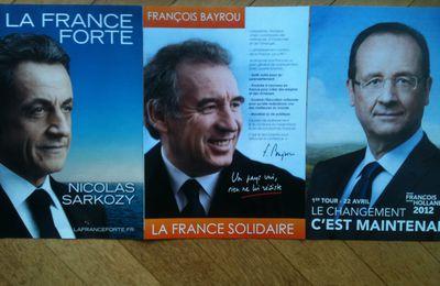 Présidentielles 2012 : l'heure du choix, pour que France soit...