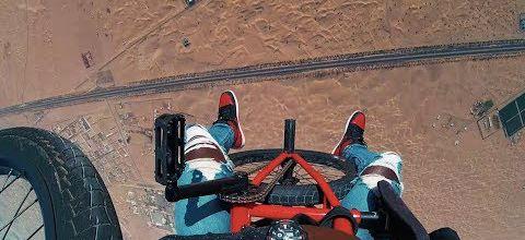 Un BMX foufou à Dubaï