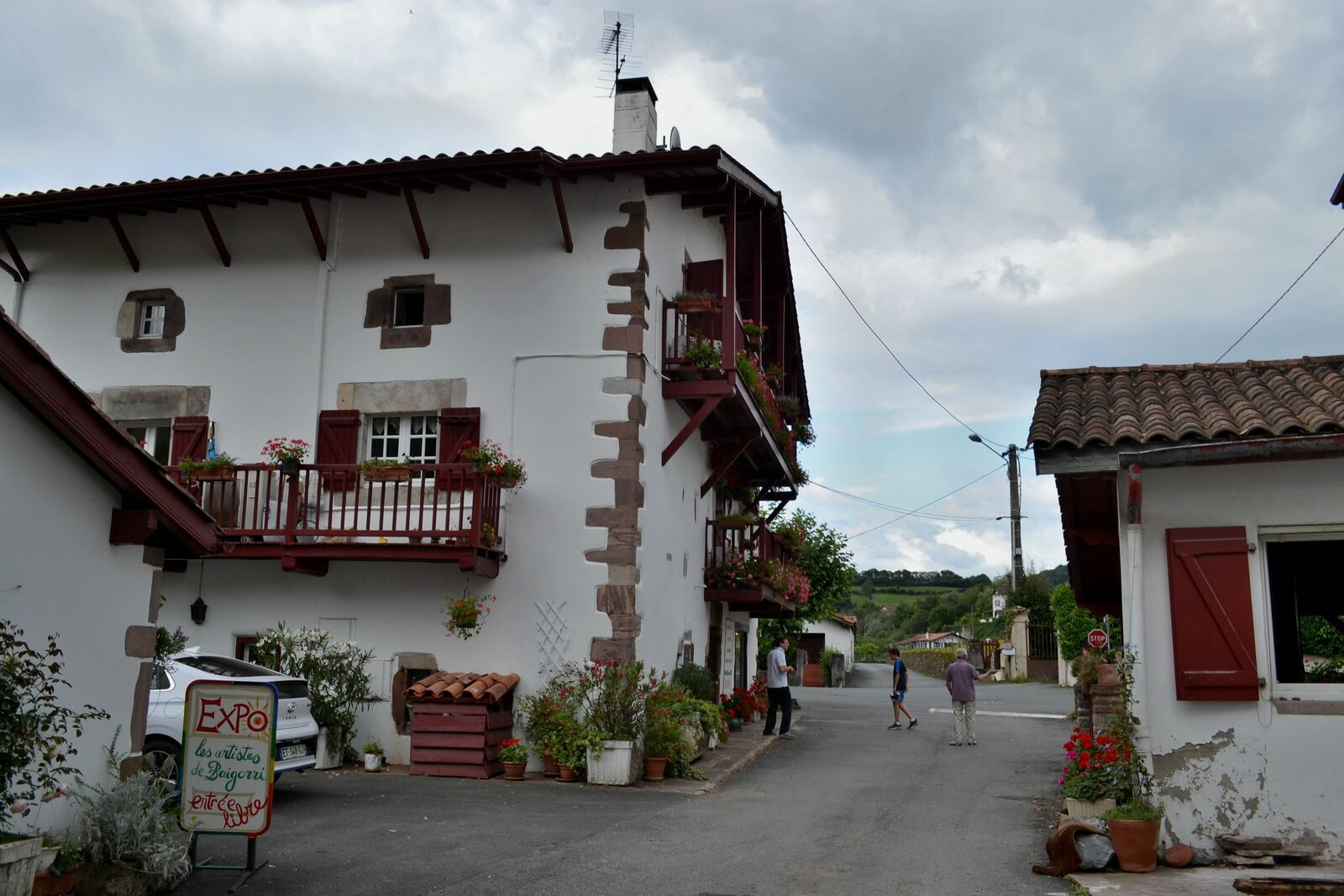 Saint-Etienne-de-Baïgorry, charmant bourg ancien de l'arrière-pays Basque!