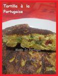 (Portugal) Tortilla façon Portugaise ...