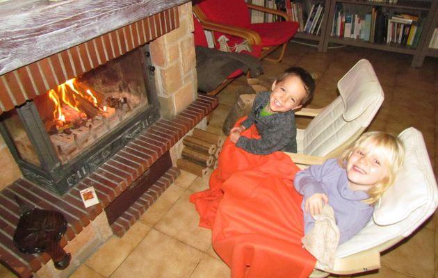 La première flambée dans la cheminée - 1er novembre 2013