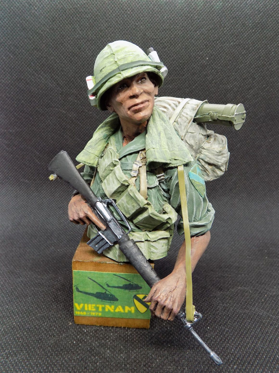 Buste Gi's - 1st Cavalry Division (Airmobile) Vietnam 1970 - 1/9 par Willy