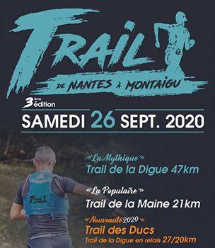 """Jean-Yves """" de Nantes à Montaigu """"... au trail de la digue"""