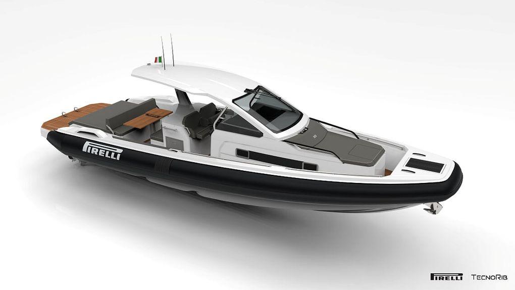 Pirelli 35 дебютирует на воде