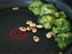Linguines aux brocolis