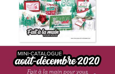 Nouveau mini catalogue hiver 2020