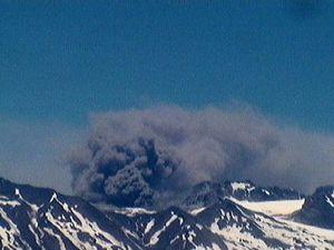Planchon Peteroa - 18.12.2018 - images webcam Sernageomin et volcanode Chile - un clic pour agrandir