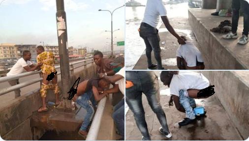 NIGERIA  : Des habitants de Lagos arrêtés pour défécation à l'air libre (photos)