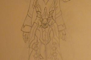 [Cosplay] Draenei Warlock, Shadow Council's Garb - Les croquis