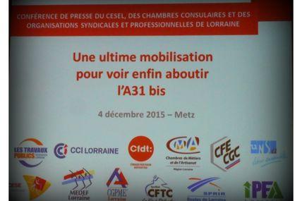 CESE de Lorraine A31 bis Une ultime mobilisation