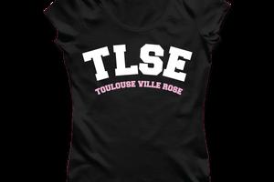 T-shirt: France - Midi-Pyrénées - TLSE - Ville Rose.