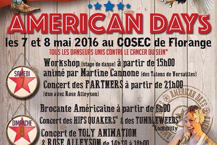 Florange Américan Days les 7 et 8 mai 2016