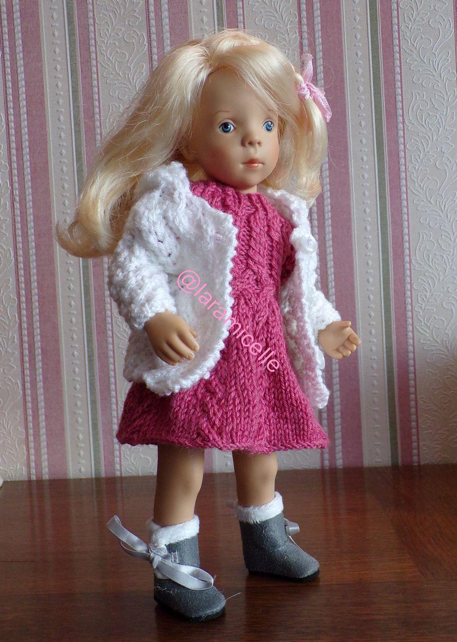 tuto gratuit  poupée  : veste à capuche