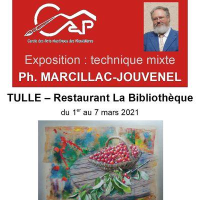 Exposition au Restaurant La Bibliothèque à Tulle